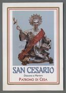 ES3244 S. SAN CESARIO DIACONO MARTIRE PATRONO DI CESA - Religione & Esoterismo