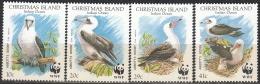 Christmas Island 1990 Michel 303 - 306 Neuf ** Cote (2005) 9.70 Euro WWF Oiseau Fou D'Abbott