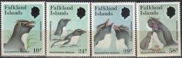 Falkland Islands 1986 Michel 453 - 456 Neuf ** Cote (2005) 12.30 Euro Gorfou Sauteur - Falkland