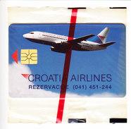 CROATIE CARTE NEUVE 100 IMPULSA, CROATIA AIRLINES. (3C13) - Croatie
