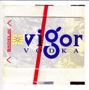 CROATIE CARTE NEUVE 200 IMPULSA, VIGOR VODKA, (OXYDATION) . (3C5) - Croatie