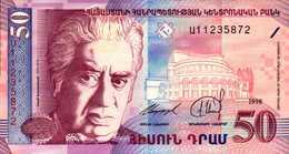 ARMENIE 50 Et 100 DRAM De 1998 Pick 41 Et 42   UNC/NEUF - Arménie