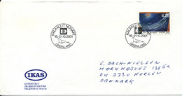 Greenland Cover Sent To Denmark Hafnia 01 16-21/10 2001 In Copenhagen - Groenlandia