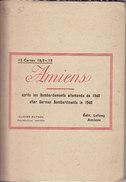AMIENS 12 CARTES 10.5x 15 Apres Les Bombardements Allemands De 1940 TOUTES SCANNEES - Amiens