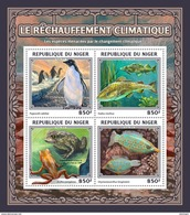 NIGER 2016 - Global Warming, Frogs. Official Issue