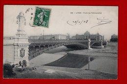 1 Cpa Lyon Pont De L Universite - Autres