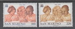 PAIRE NEUVE DE SAINT-MARIN - 30EME ANNIVERSAIRE DE L´UNESCO N° Y&T 925/926