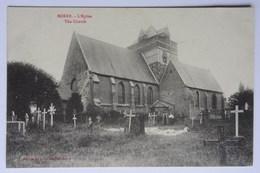 CPA Borre, L'Eglise, Nord, WW1, Soldats - Autres Communes