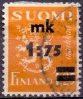 Finland 1940 Opdruk Mk 1.75 GB-USED