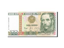 Pérou, 1000 Intis, 1986-1988, KM:136b, 1988-06-28, SPL+ - Pérou