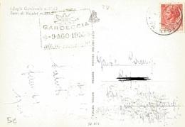 TIMBRO SU CART. GARDECCIA 9 AGO 1955 - Timbri Generalità