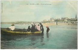 50 SAINT-PAIR-SUR-MER. Partie De Canotage Colorisé - Saint Pair Sur Mer