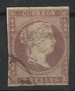 Espagne N° 41 Oblitéré 1856 - 1850-68 Königreich: Isabella II.