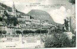 N°33984 -cpa Grenoble  -les Quais, Lavedette Et Le Saint Eynard- - Grenoble