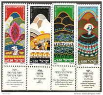 ISRAEL - Nouvel An 5742: Moïse, Livre De L'exode Tab