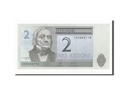 Estonia, 2 Krooni, 2007, KM:85b, NEUF - Estonie