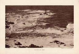 BRETAGNE, LE RAZ DE SEIN, Planche Densité = 200g, Format 20 X 29 Cm, (Aviation Maritime Brest) - Géographie