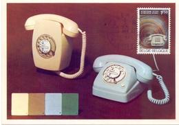 BELGIUM TELECOM  REGIE VAN TELEGRAFIE EN TELEFONIE MAXIMUN   (FEB170107) - Altri