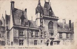 18 - BOURGES - Façade Jacques-Coeur - Bourges