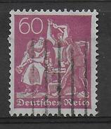 1921 - Mi Nr. 184  Gestempelt - KW = 26 Euros Geprüft INFLA BERLIN