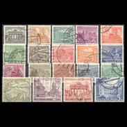 GERMANY BERLIN 1949 COMPLETE USED SET No 42-60 - [6] République Démocratique