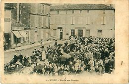 Cpa MELLE 79 Marché Aux Denrées - Melle