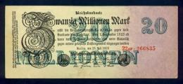 Banconota Germania 20.000.000 Mark 25/7/1923 FDS - Germany