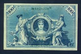 Banconota Germania 100 Mark 7/2/1908 SPL - Germany
