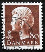 Denmark 1976   Queen Margrethe II   Cz.Slania    MiNr.622y      (lot  D 215 ) - Denmark