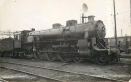 LOCOMOTIVE N°3612 PO (  Ancien Retirage Photo  Format Carte Ancienne) - Trains