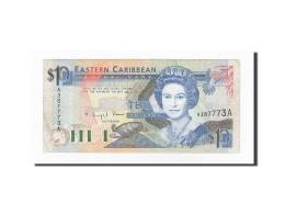 Etats Des Caraibes Orientales, 10 Dollars, KM:23a2, TTB - Caraïbes Orientales