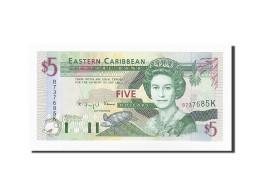 Etats Des Caraibes Orientales, 5 Dollars, KM:22a2, NEUF - Caraïbes Orientales