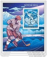 NIGER 2014 ** S/S Olympic Games Sotchi Ice Hockey Olympische Spiele Sotschi Eishockey A1429 - Winter 2014: Sotschi