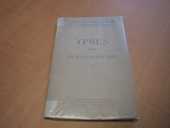 Ieper - Ypres / Ypres And The Battles For Ypres 14-18 - Livres, BD, Revues