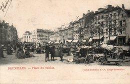 Bruxelles, Place Du Sablon. - Marchés