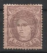 Espagne N° 102 Neuf 1870 - Ungebraucht