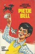 4 X PIETJE BELL - CHRIS VAN ABKOUDE - KLUITMAN JEUGDSERIE Nrs J1004 - J1017 - J1033 - J1042 - Books, Magazines, Comics