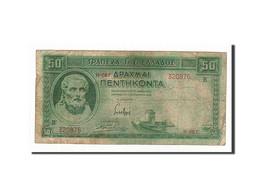 Grèce, 50 Drachmai, 1939, 1939-01-01, KM:107a, TB+ - Grèce