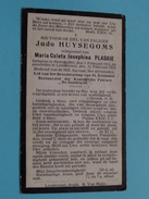 DP Judo HUYSEGOMS ( PLASKIE ) Steenhuffel 3 Feb 1853 - Londerzeel 12 Feb 1929 ( Zie Foto´s ) ! - Religion & Esotérisme