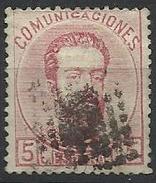 Espagne N° 117 Oblitéré 1872 - Used Stamps