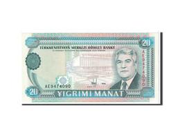 Turkmanistan, 20 Manat, 1995, KM:4b, NEUF - Turkménistan