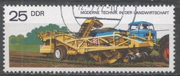 German Democratic Republic 1977. Scott #1831 (U) Potato Digger And Loader * - [6] Democratic Republic