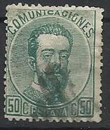 Espagne N° 125 Oblitéré 1872 - Used Stamps