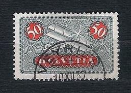 SVIZZERA 1923 - Posta Aerea - Biplano 5 C. -  Mi:CH 184x - Usati