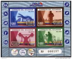 Ecuador 2016 ** Upaep.  Juegos Olímpicos De Río. See Desc. - Ecuador