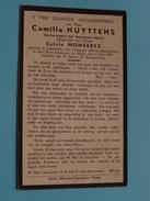 DP Camille NUYTTENS ( Sylvie MONSEREZ ) Lendelede 9 Jan 1869 - Heule 3 Juni 1935 ( Zie Foto´s ) ! - Religion & Esotericism