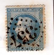 OBLITERATION GC 357, BAYEUX - Marcophilie (Timbres Détachés)