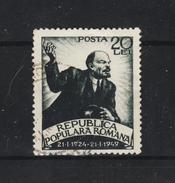 1949 - ROMANIA  Mi No 1177 - 1948-.... Republics