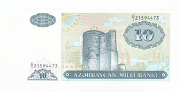 Azerbaïdjan, 10 Manat, 1993, KM:16, NEUF - Azerbaïdjan