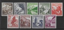 REICH - 1938 - YVERT N°616/624 ** MNH - COTE = 100 EUR. - - Deutschland